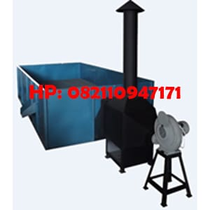 Mesin Box Dryer - Mesin Pengering Kakao Kap. 750 Kg/Proses
