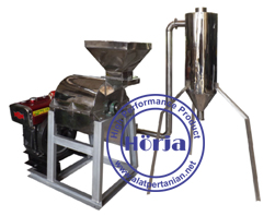 Mesin hammer mill cyclone