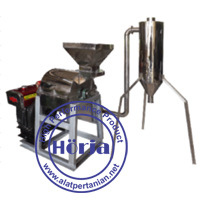 Mesin penepung hammer mill stainless steel dengan cyclon