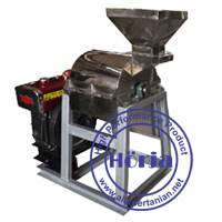 Mesin penepung hammer mill stainless steel
