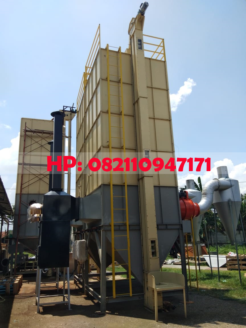 Mesin Vertical Dryer Padi Kapasitas 10.000 KgBatch