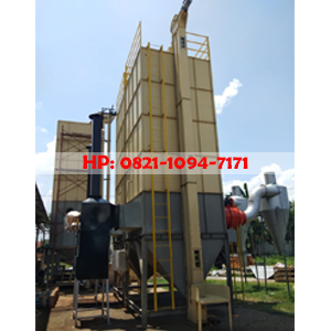 Mesin Pengering Gabah Vertical Dryer Kapasitas 6.000 Kg/Batch