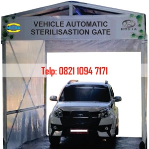 Vehicle Automatic Sterilisation Gate