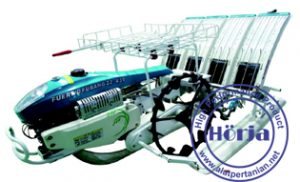 Mesin tanam padi - Rice transplanter